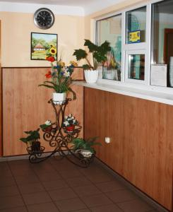 Лобби или стойка регистрации в Отель Выдубичи