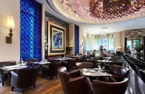 台北怡亨酒店餐廳或用餐的地方