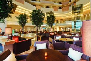 A restaurant or other place to eat at Hyatt Regency Chennai