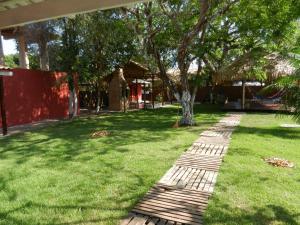 Um jardim em Hostel Pousada do Tapajós