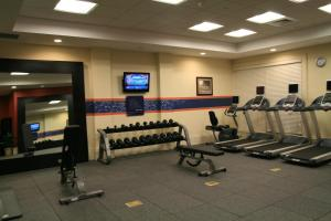 The fitness center and/or fitness facilities at Hampton Inn & Suites Mobile - Downtown Historic District