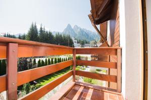 Balkón nebo terasa v ubytování Villa Ermitage