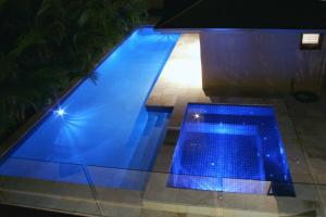 The swimming pool at or near The Byron Beach House