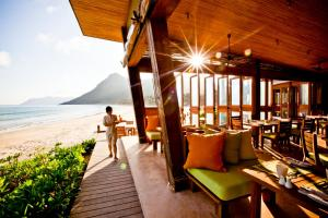 A restaurant or other place to eat at Six Senses Con Dao
