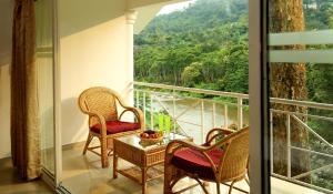 شرفة أو تراس في Rivulet Resort