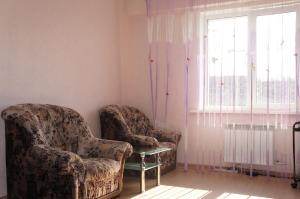 Гостиная зона в Apartment in Center on Trilissera