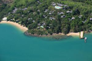 A bird's-eye view of Six Senses Yao Noi