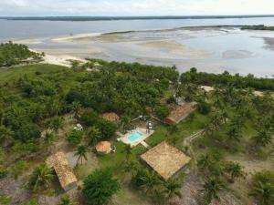 A bird's-eye view of Village Mangue Seco