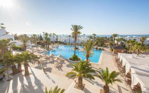 A view of the pool at Seabel Aladin Djerba or nearby