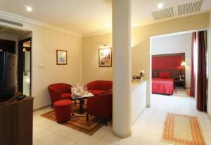 ホテル ドゥ パルクにあるシーティングエリア