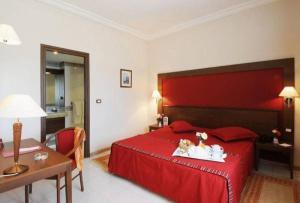 ホテル ドゥ パルクにあるベッド