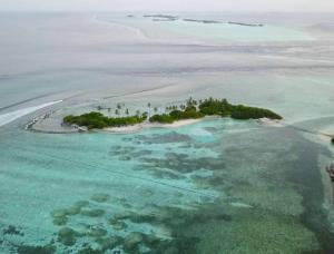 Blick auf Ocean Retreat and Spa aus der Vogelperspektive