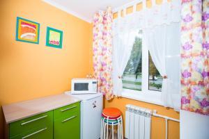 Телевизор и/или развлекательный центр в Апартаменты на Ленина 103