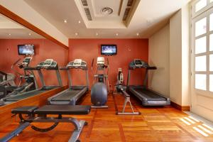 The fitness centre and/or fitness facilities at Excelsior Palace Palermo