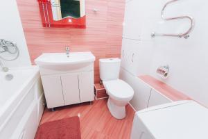 A bathroom at Апартаменты на Федерации 63-УИГА