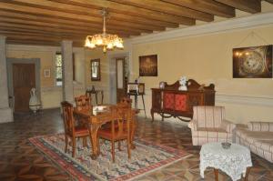 Area soggiorno di Villa Adelaide