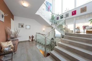 Lobby/Rezeption in der Unterkunft Appartements Zahnleiten