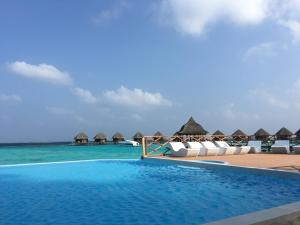 The swimming pool at or near Thulhagiri Island Resort & Spa