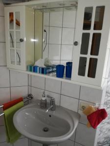 Ein Badezimmer in der Unterkunft Appartment Moselblick Bullay