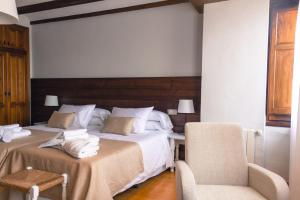 Cama o camas de una habitación en La Vereda ONLY ADULTS