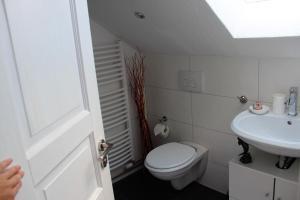 Ein Badezimmer in der Unterkunft Apartment am Stadtsee