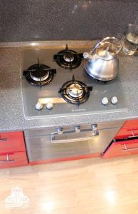 Кухня или мини-кухня в Апартаменты Еду в Дивеево