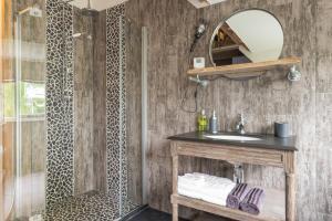 Een badkamer bij B&B Spoelhof