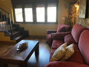A seating area at Casa Miranda