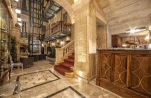 Lobby/Rezeption in der Unterkunft Palazzo Consiglia