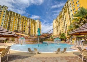 The swimming pool at or close to Lake Buena Vista Resort Village and Spa, a staySky Hotel & Resort Near Disney