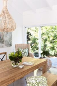 A seating area at Satara Byron Bay - coastal lifestyle