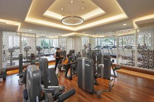 The fitness center and/or fitness facilities at Mandarin Oriental, Kuala Lumpur