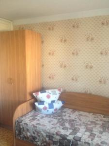 Кровать или кровати в номере Гостиница Стрела