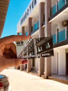 Логотип или вывеска апарт-отеля