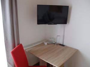 A television and/or entertainment center at Pension Rammert