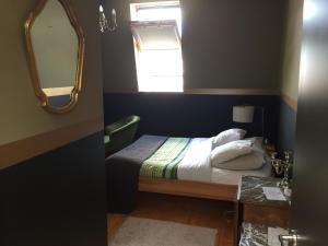 Een bed of bedden in een kamer bij Vakantielogies Faja lobi