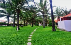A garden outside Phu Hai Resort