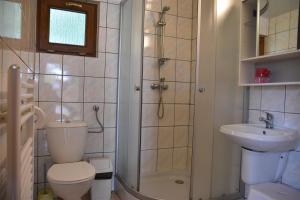 Łazienka w obiekcie Camping Baltic