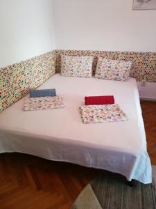 מיטה או מיטות בחדר ב-Try the Central Felling