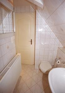 A bathroom at Ferienwohnung Richter