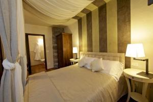 Letto o letti in una camera di Maison Bondaz & SPA privé