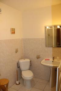 A bathroom at Manoir Courtyard cottage rental Vendee
