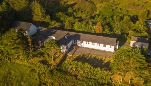 A bird's-eye view of Loch Eyre House