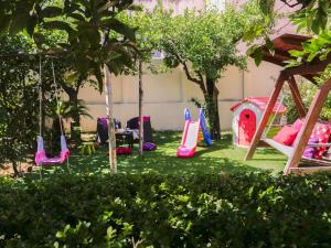 Children's play area at Hotel Diana