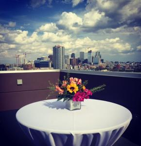 A balcony or terrace at Fairfield by Marriott Denver Downtown