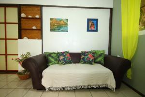 Un ou plusieurs lits dans un hébergement de l'établissement Fare Kahaia
