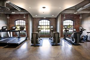 The fitness center and/or fitness facilities at NYLO Las Colinas Hotel, Tapestry Collection by Hilton