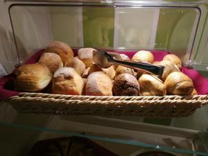 Breakfast options available to guests at Hotel Borgo Antico