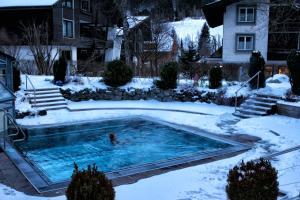 The swimming pool at or near Ortners Eschenhof - Alpine Slowness