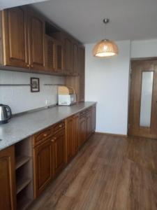 A cozinha ou cozinha compacta de Apartment on Uzeyir Gadjibeyli Street Formula 1